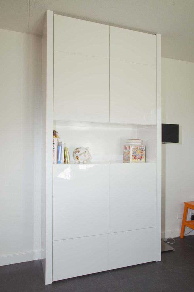 witte kast lux meubel interieur